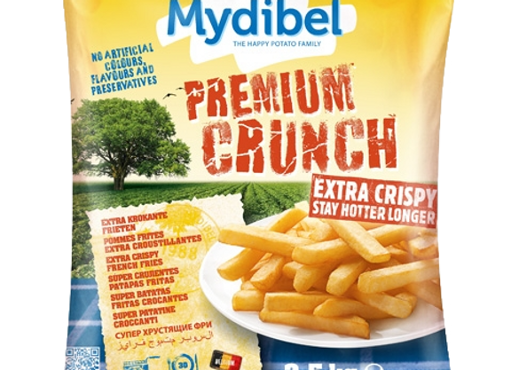 Premium Crunch pommes frites  4x2,5kg pr ks