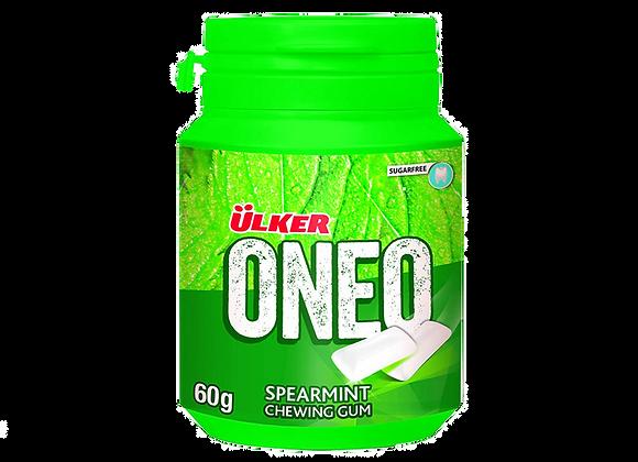 Ulker Oneo, Tyggegummi, Spearmint 60g