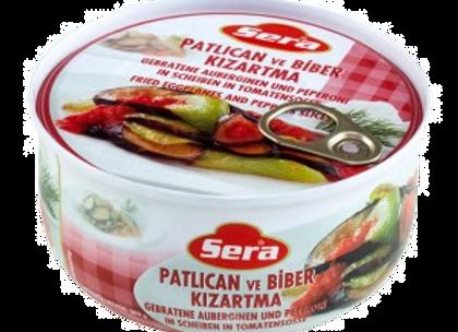 Sera Færdigret stegte auberginer og paprika i tomatsauce 314Gr.
