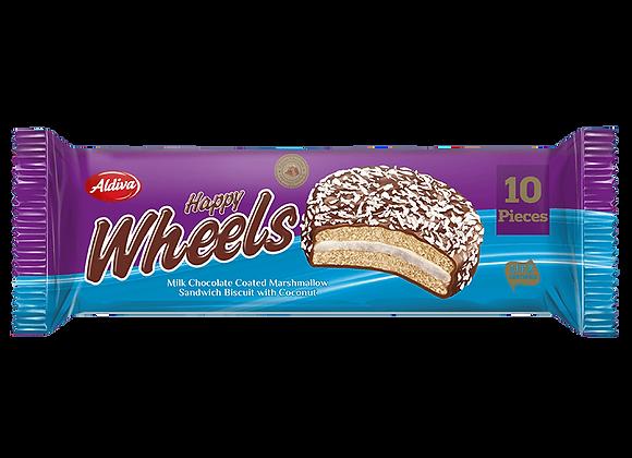 Aldiva Happy Wheels Marshmallow Sandvic Kiks Med