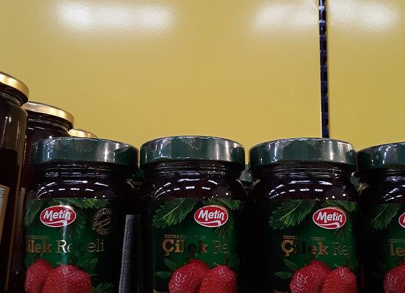 Metin Marmelade, Jordbær, I Glas 360g