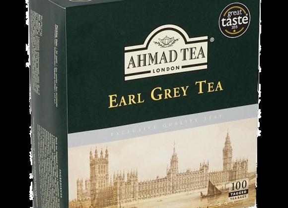 Ahmad Tea Early Grey Te, Brev 100x2g