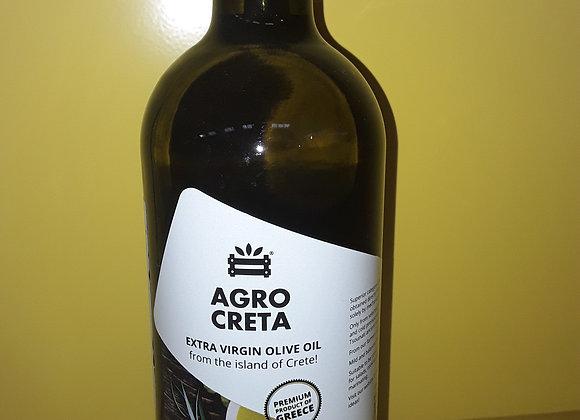 Agrocreta Olivenolie, Extra Jomfru, Glas 1l