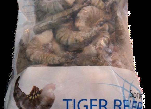 Sorte tigerrejer 16/20 IQF 10x1 kg pr/ps