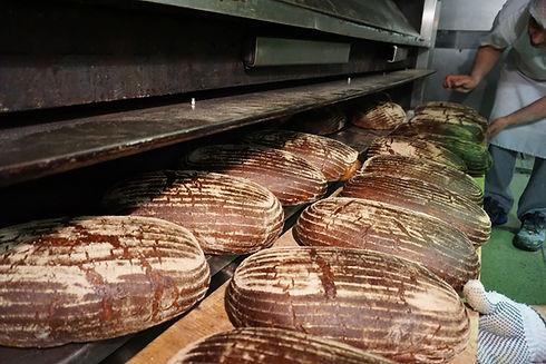 Brote aus dem Ofen