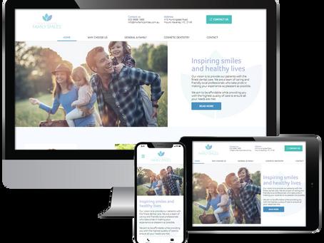 New Website Launch – Mount Waverley Family Smiles