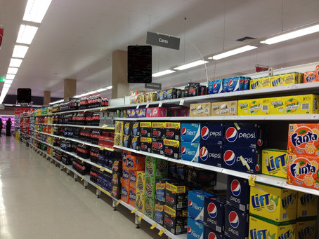 The fizz behind sugary drinks. shhh…..