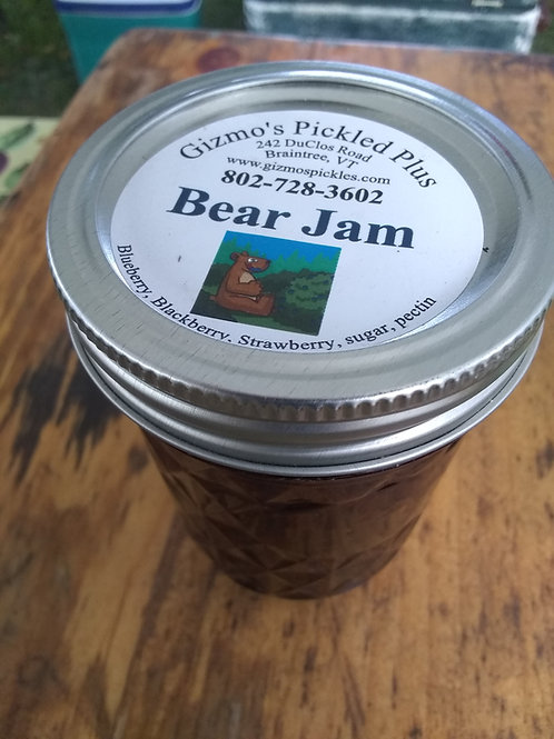 Bear Jam - All the berries bears like to eat!