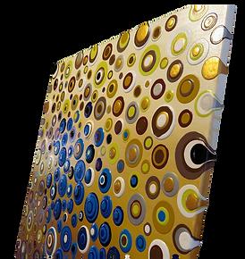 Blob Acrylbild