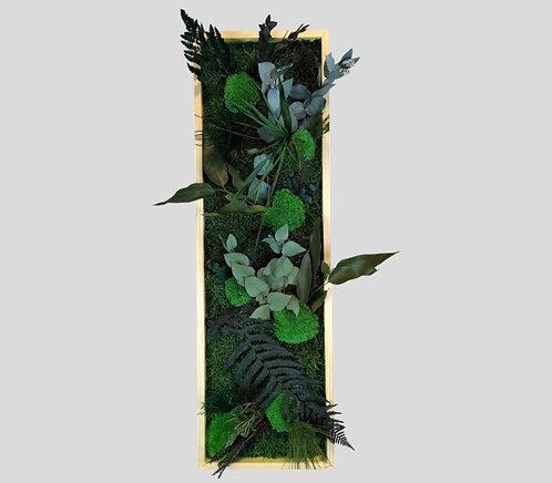 Pflanzenbild 80x25 cm