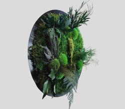 Dschungelbild 40 cm