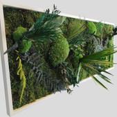 Pflanzenbild 100x40 cm