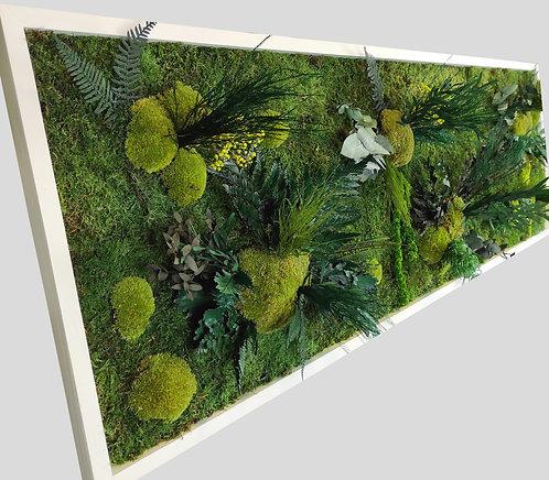 Pflanzenbild 150x50 cm
