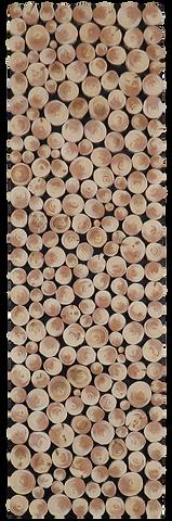 Holzwandbild