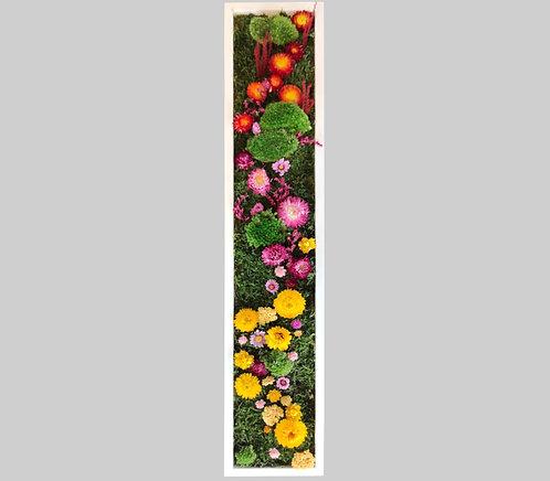 Blütenbild 15x80 cm