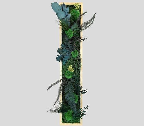 Pflanzenbild 80x15 cm