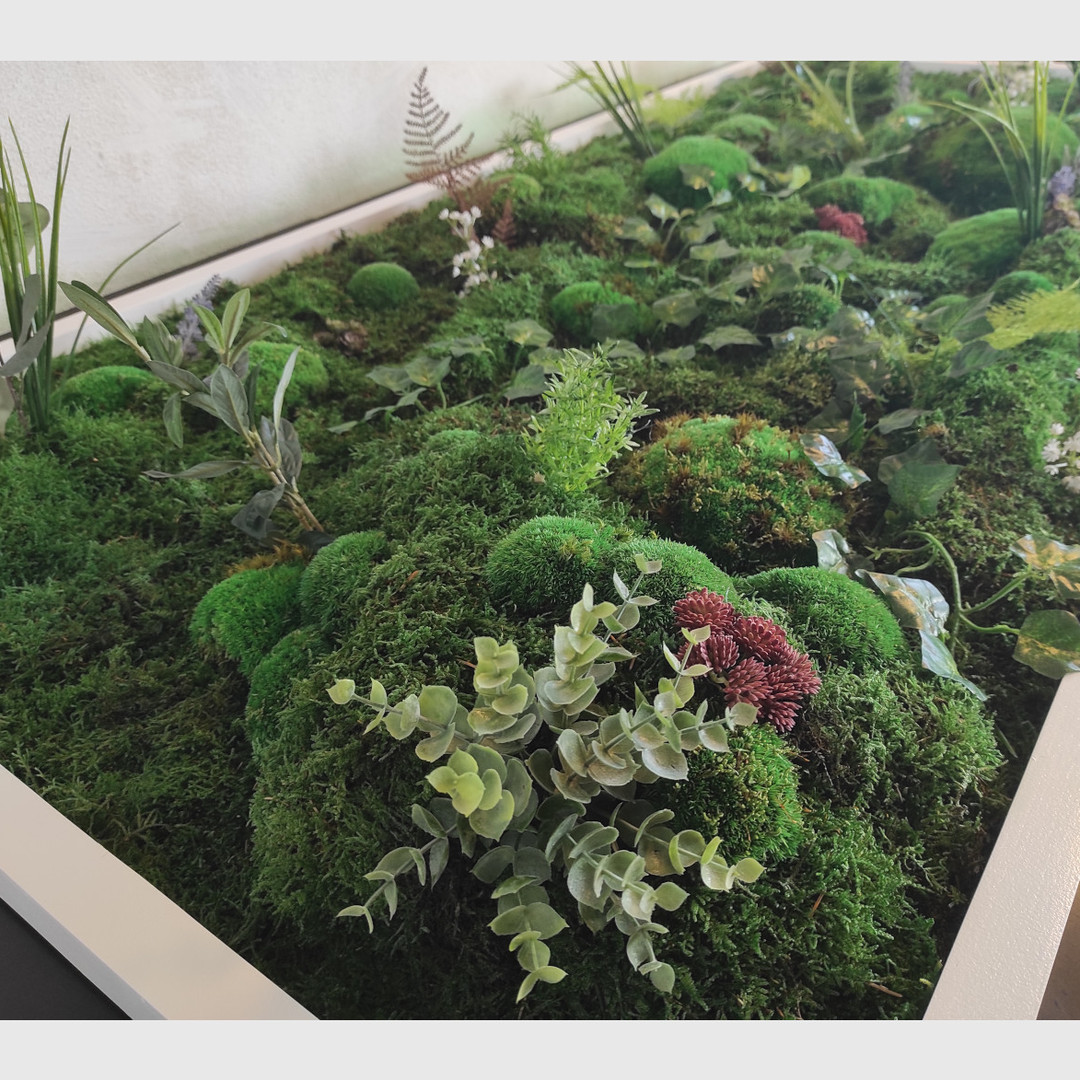 Pflanzenbild 170x80 cm