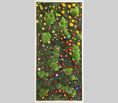 Blütenbild 150x70 cm