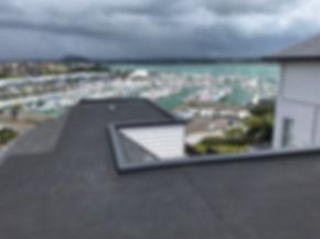 Membrane roof rebuild completion photo.j