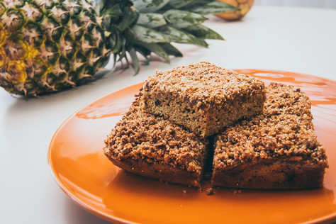 Primal Pumpkin Coffee Cake