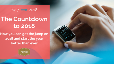 New Year, New You? Why Wait? The 8 Week Countdown to 2018 Starts Now.