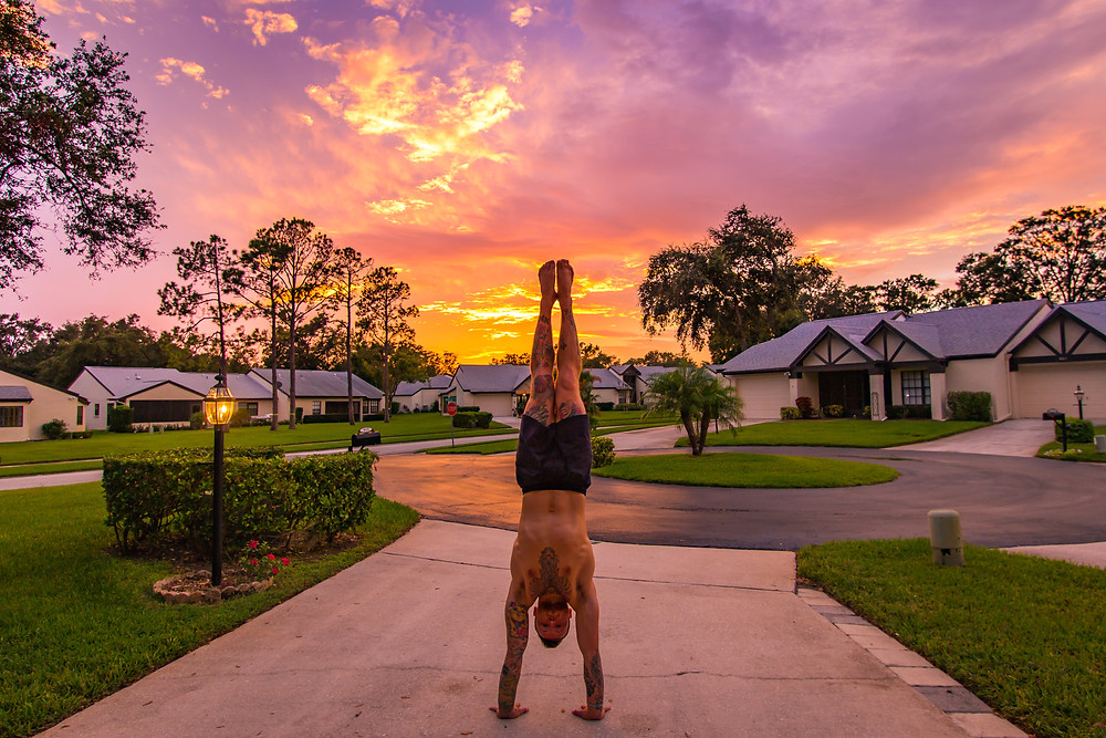 P bars are an excellent way to progress towards the handstand