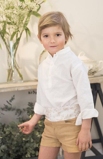 Camisa Juan: Lino