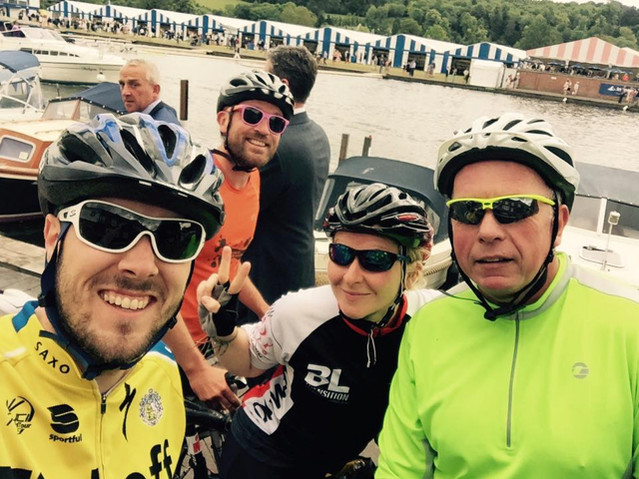 The Voyage Journey: John's 104 mile Bike Ride