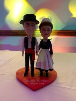 Mariage Charlene et Filipe