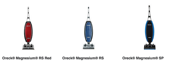 Oreck offers lightweight upright vacuums, bagless vacuums Pinole CA