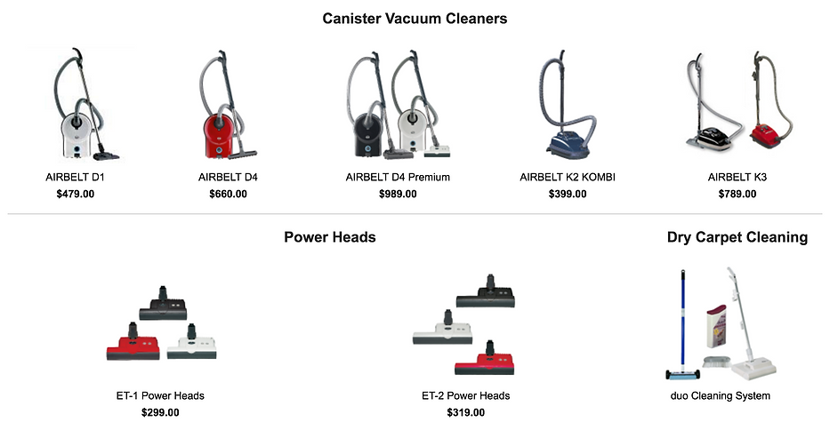 Pinole CA SEBO Canister Vacuum Cleaner Dealer in Rodeo CA