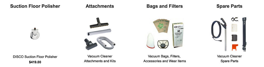SEBO Vacuum Cleaner Accessary Dealer in El Sobrante Richmond CA
