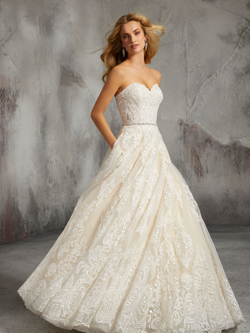 Lisa by Morilee | All Lace Ballgown