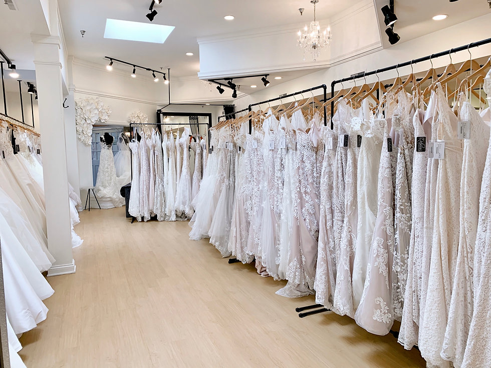 Rebecca's Wedding Boutique Bridal Showroom in Louisville, KY