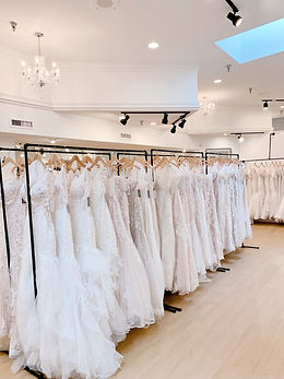 Bridal Showroom at Rebecca's Wedding Boutique in Louisville, Kentucky