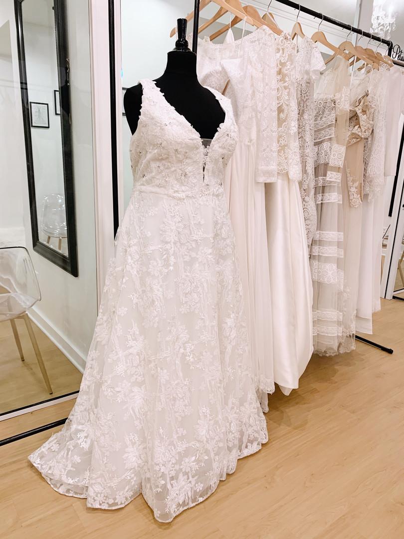 Plus Size Wedding Dress at Rebecca's