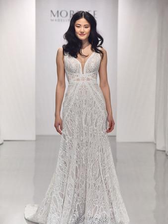 Brooke by Morilee | Boho All Lace Wedding Dress