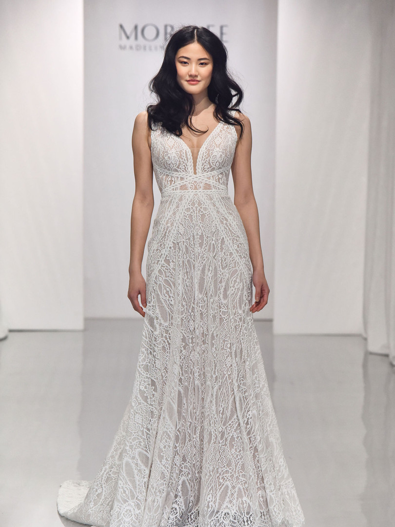 Brooke by Morilee | Boho All Lace Wedding Dress