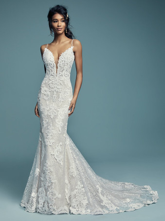 Maggie Sottero Tuscany Lynette | Fitted Lace