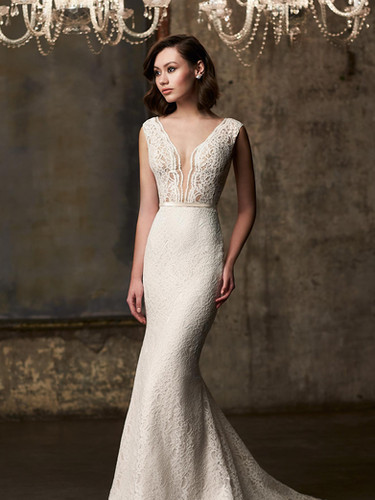 2303 by Mikaella | All Lace Sexy And Sophisticated Wedding Dress