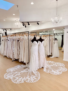 Bridal Showroom at Rebecca's Wedding Boutique | Plus Size Wedding Dresses
