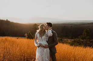 Boho Long Sleeve Wedding Dress | Essense of Australia D3145 |  Real Bride Inspo from Rebecca's in Louisville, KY