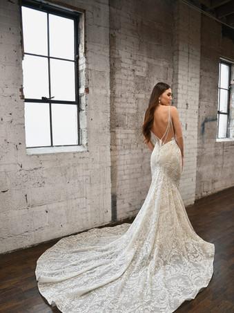 Martina Liana 1348 | Sexy Beaded Lace Wedding Dress