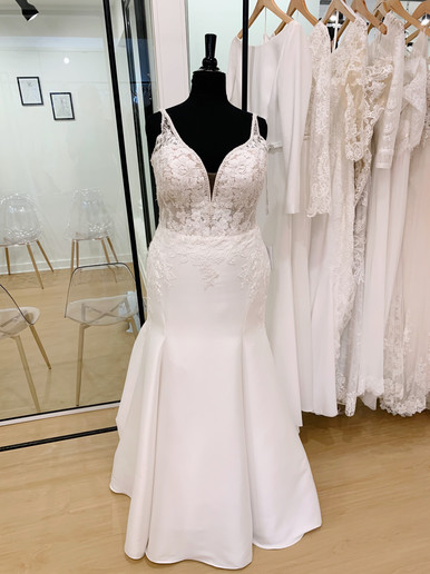 Plus Size Wedding Dress at Rebecca's
