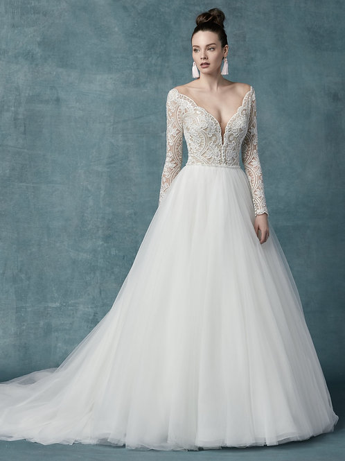"""Mallory Dawn"" by Maggie Sottero"