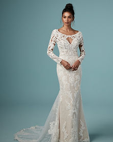 Maggie Sottero Cheyenne Long Sleeve Wedding Dress in Kentucky