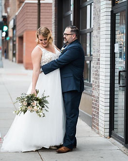 Mikaella Bridal Lace Plus Size Wedding Dress at Rebecca's Louisville
