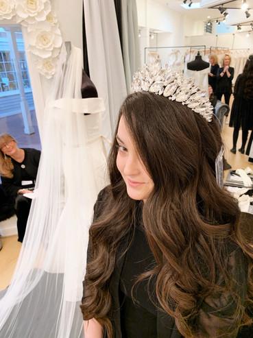 Elaborate Crystal Bridal Tiara