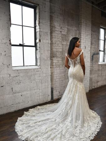 Martina Liana 1338 | Glam Couture Beaded Lace Wedding Dress