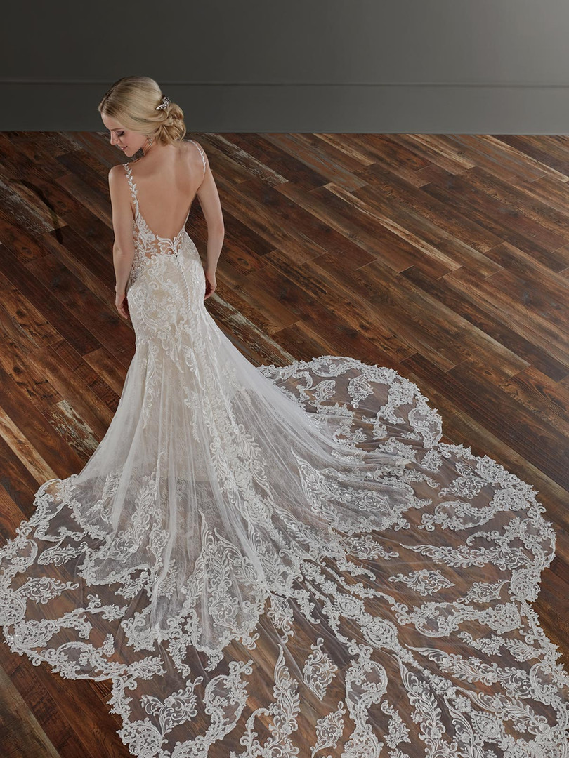 1111 Martina Liana | Sexy Beaded Lace Fitted